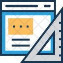 Feature Web Design Icon