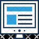 Web Design Layout Icon