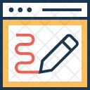 Web Design Graphic Icon