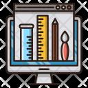 Web Design Seo Icon