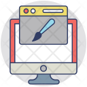 Web Development Graphics Icon