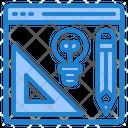 Web Design Idea Icon