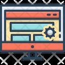 Web Design Service Web Design Icon