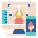 Web Designer Desktop Icon