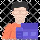 Webdesigner Uxuidesigner Job Icon