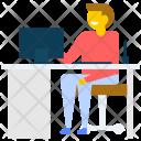 Computer Art Designer Icon