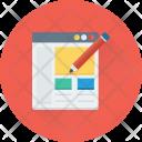 Web Designing Website Icon