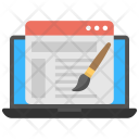 Web Designing Maintenance Icon