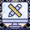 Web Designing Graphic Tools Online Designing Icon