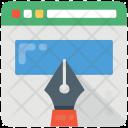 Web Designing Layout Icon