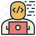 Web Developer Laptop Icon