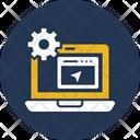 Web Developing Icon