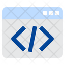 Web Developing Website Coding Code Icon