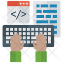 Web Development Coding Programming Icon