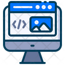 Web Design Development Icon