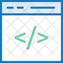 Web Development Coding Code Icon