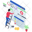 Web Development Web Video Online Video Icon