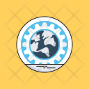 Web Development Cog Icon