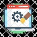 Web Setting Web Development Web Configuration Icon