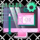 Web Development Website Devlopment Website Coding Icon