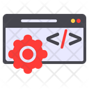 Web Development Web Page Programming Icon