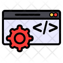 Web Development Web Page Programming Icon