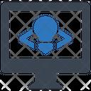 Web Development Mobile Seo Plan Icon