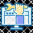 Web Development Optimization Computer Icon