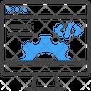Web Development Setting Computer Icon