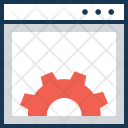 Web Development Settings Icon