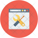 Web Setting Repair Icon