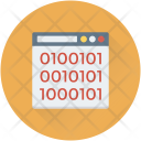 Binary Data Website Icon