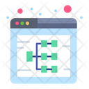 Web Diagram Icon