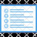 Web Direction Icon