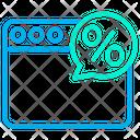 Web Discount Icon
