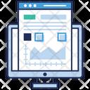 Web Document Online File Data Analytics Icon