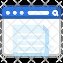 Web Document Online Document Document Icon
