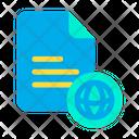 Web Document Web File Icon