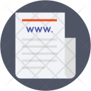 Web Documents Pages Icon
