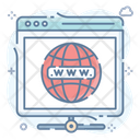 Www Intranet World Wide Web Icon