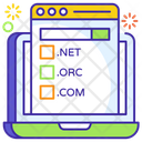 Web Domain Domain Name Domain Registration Icon