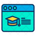 Web Education Icon