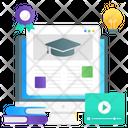 Web Education Online Education Educational Site Icon