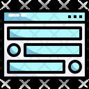 Web Elements Icon