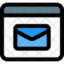 Web Email Icon