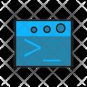 Web Error Display Icon