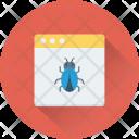 Web Error Bug Icon