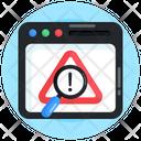 Web Analysis Web Error Analysis Find Error Icon