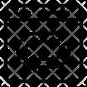 Web Exchange Web Reverse Data Reverse Icon