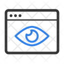 Web Eye Web Search Eye Icon